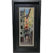 Pietra Dura Artwork Marco Tacconi Marble Mosaic of Florence Street