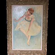 French Impressionist Copy Edgar Degas siged Ames