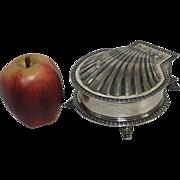 Antique London English R. & S. Garrard & Co. Sterling Shell Snail Jewelry Box