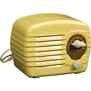 1938 Niagara Metal case AM Radio Model 422