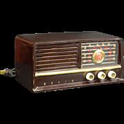 1951 Arvin AM & FM Radio Model 580TFM
