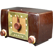 1951 Zenith AM Radio Model H615Z