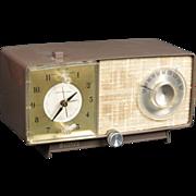 1966 General Electric AM Clock radio Model C547