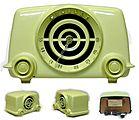 Atomic Radio Town Vintage Radios
