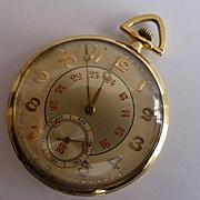 Solid 18k GOLD Pocket watch