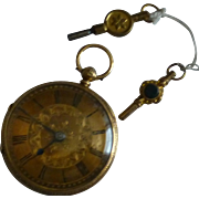 1890 Key wind 18k Pocket Watch * * * * *