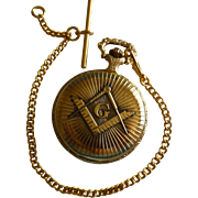 Masonic Pocket watch & Chain