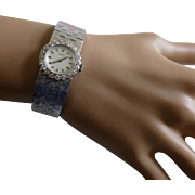 1 carat Diamond 18k ladies Wrist Watch