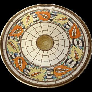 Charlotte Rhead Iznik pottery charger