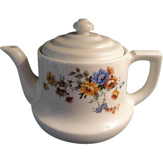 Superior Quality Kitchen Ware Teapot Floral Pattern