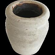 """Stoneware Paste Pot - 4-1/2"""" Height"""