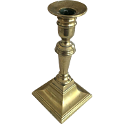 Brass Candle stick - 6-1/4""