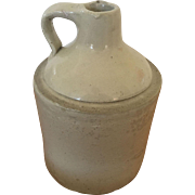 """Stoneware Jug with Handle - 9"""" Height"""