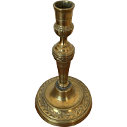"Brass Candle Stick - 9-1/2"" Height"
