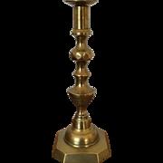 Candlestick - Brass ca:1830's