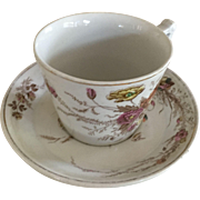 A J Wilkinson Cup & Saucer-ca: 1800's