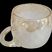 "Victorian ""Pomona"" custard cup  - 2-1/2"" Height"