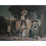 Mezzotint Engraving by J. R. Smith - ca: 1784