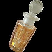 Amber Bohemian Style Vanity Dresser Bottle