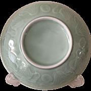 Chinese Celadon Dish - ca: 1890-1910