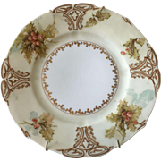"Silesia Old Ivory XXII - China Hand Painted ""Hollyberries"""