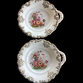Cake Plates (2) w/handles