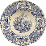 Staffordshire Soup Plate - ca:1830