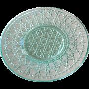 """Sandwich Glass Plate - 4-7/8"""" diameter"""