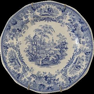 Podmore Walker Antique Plate - ca:1835-1859