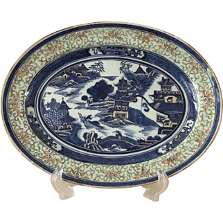 Chinese Meat Platter - ca: early 1800's