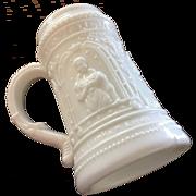 Milk/Custard Glass - Opaque  Mug or Stein ca: 1902