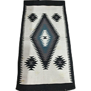 "Navajo ""Crystal"" Wool Rug"