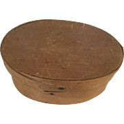 Shaker Box with Lid - Oval