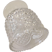 Cut Crystal Sugar Bowl/Spooner