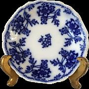 Flow Blue Antique Soup Plate - Johnson Brothers