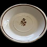 Tea Leaf Luster Plate - ca:1891