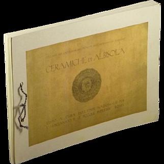 Ceramiche di Albisola - Reprint of Albisola Italian Ceramic Pottery Catalogs