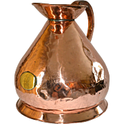 English Copper Ale Jug Circa 1820s