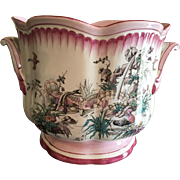 Lovely Gien French Faience Jardiniere
