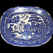 Blue Willow Platter, Allerton