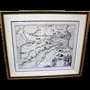 Egyptian Arabic Hebrew Map c. 1688