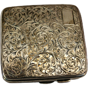 Sterling Cigarette Case, c.1875