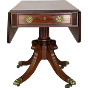 Regency Mahogany drop-leaf Table