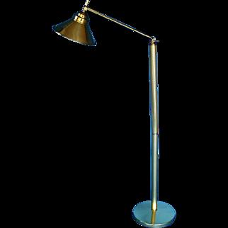 Mid Century Modern Brass Lamp Stand