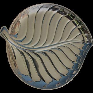 International Silver #8198 Leaf Tray