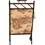 English Bamboo,  Fireplace Screen c.1890-1900