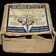 French Debouchtout boxed Corkscrew