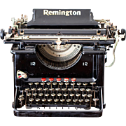 1920s Remington Typewriter - Model No. 12 - Prop or Office Decor