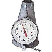 Vintage Hanging Scale - Penn Scale Mfg Co - 20 Lb - Chicken Scoop