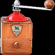 1950s Peugeot French Pepper / Salt Mill - Modele M - Original Logo